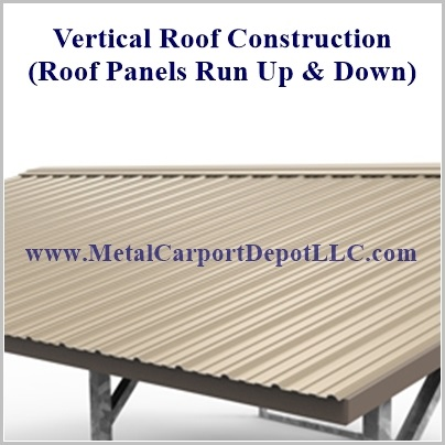 Picture Of Vertical Roof Panels