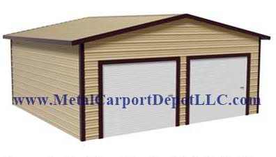 Boxed Eave Style Metal Buildings