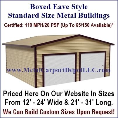 Metal buildings metal structures online buy metal for Metal building styles