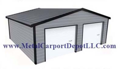 Boxed Eave Style TW Metal Buildings