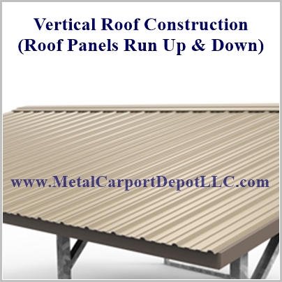 Vertical Roof Panels