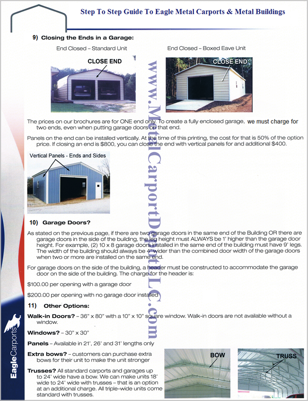 Guide To Metal Carports & Metal Buildings Pg 2