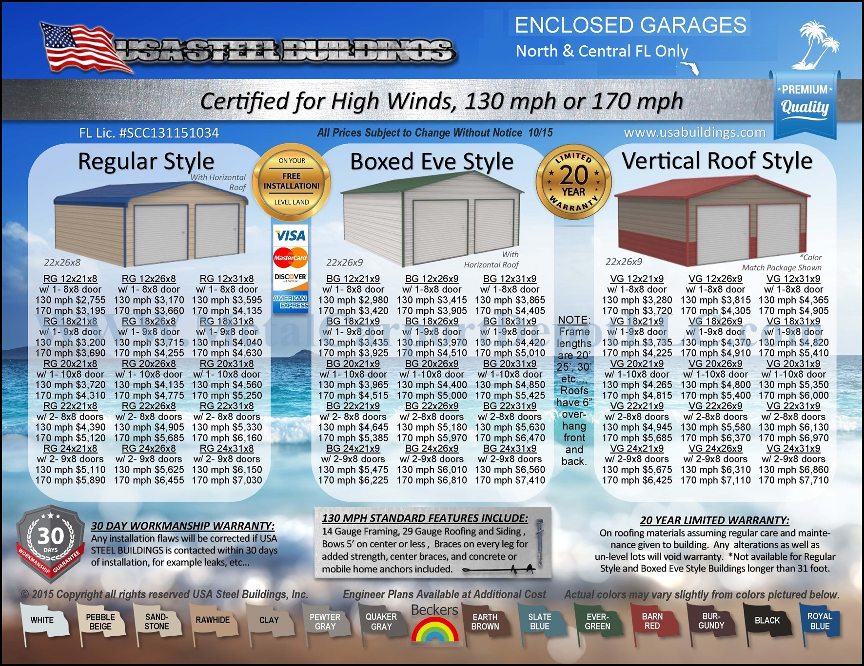 Metal Carport Amp Buildings Florida Pricing Metal