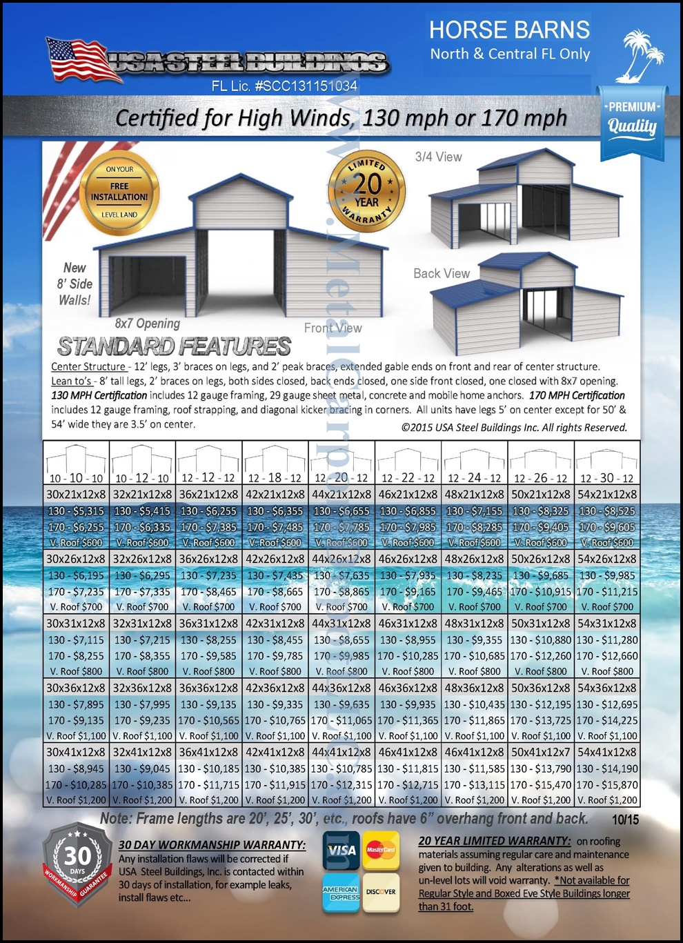 Horse Barns | Pole Barns | FL Prices