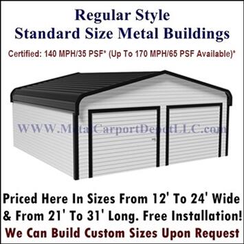 Regular Style Metal Buildings