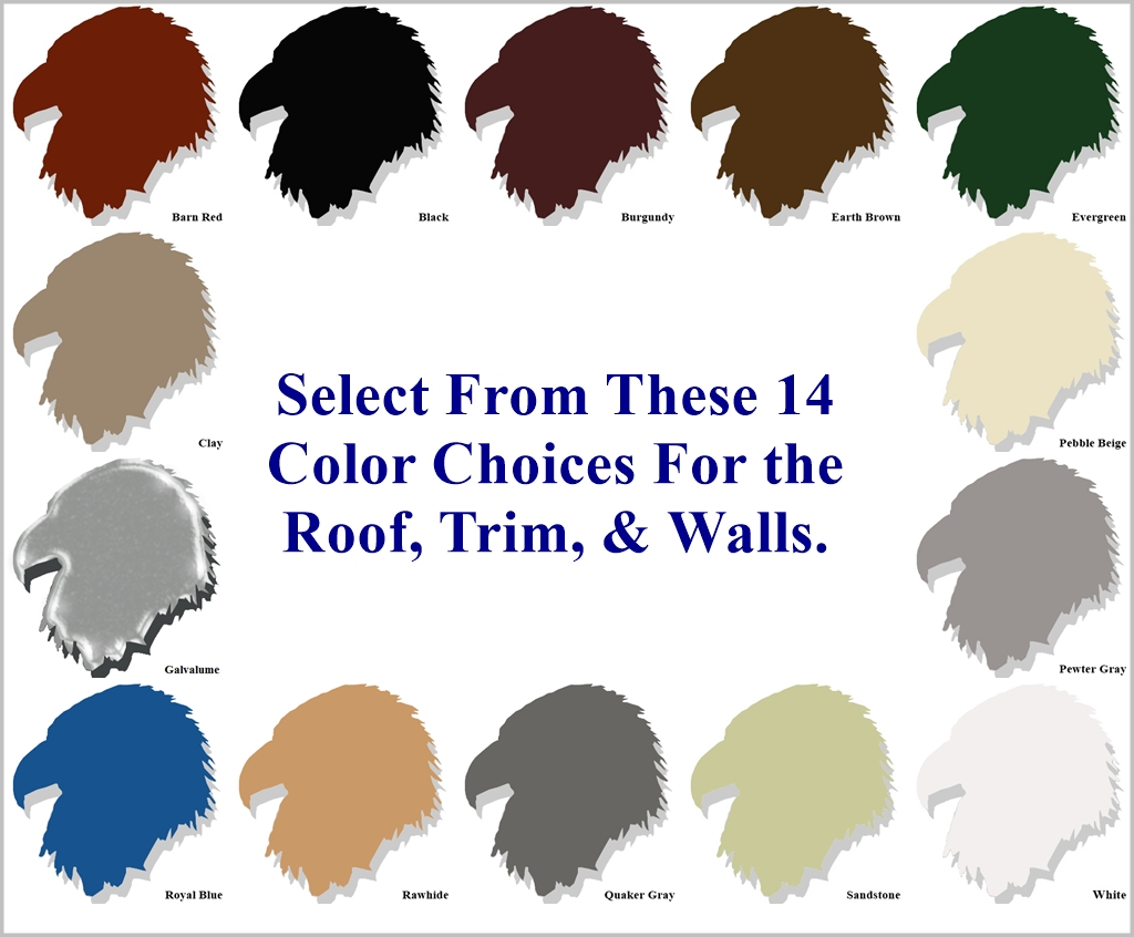 Metal Carport Color Choices