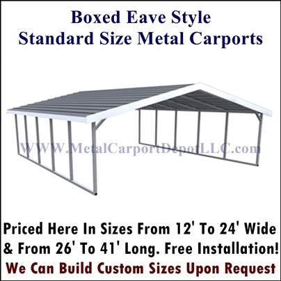 Portable Metal Carport | Metal Carports Kits Prices