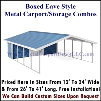 Boxed Eave Style combo Pic