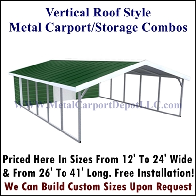 Vertical Roof Style Combo Unit