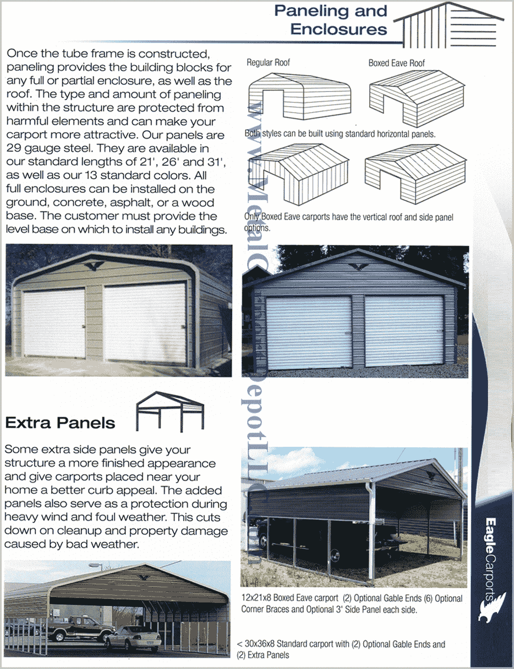 Paneling and Enclosure Information