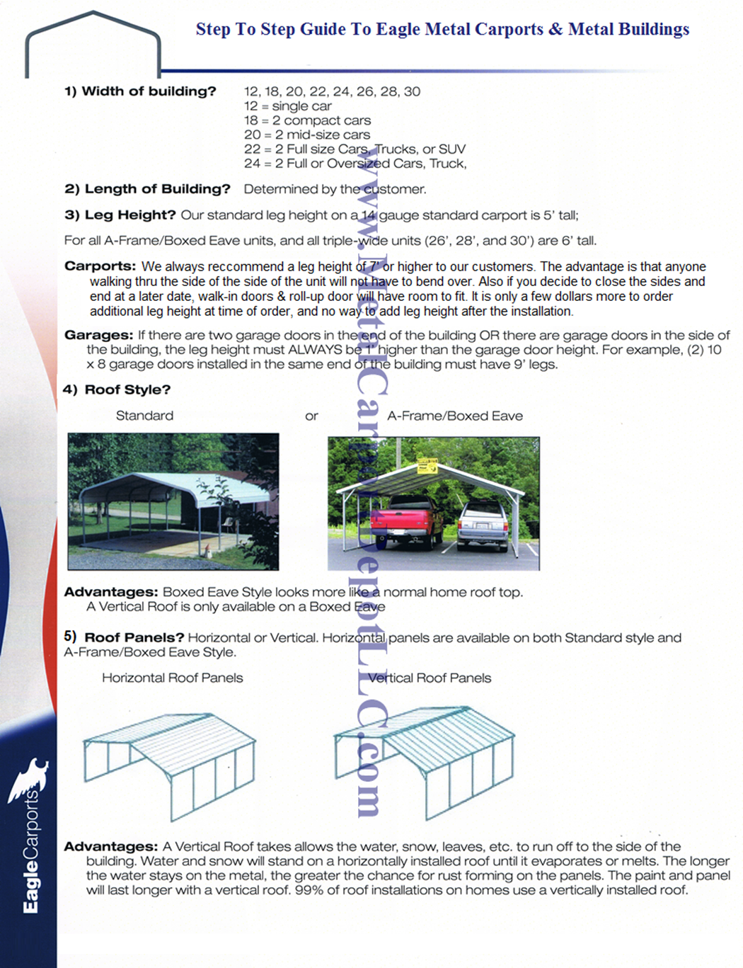 Answers to faq about metal carports metal buildings guide to metal carports metal buildings rubansaba
