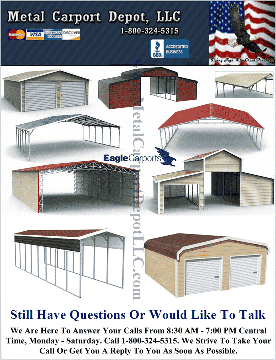 Metal Carport Depot LLC
