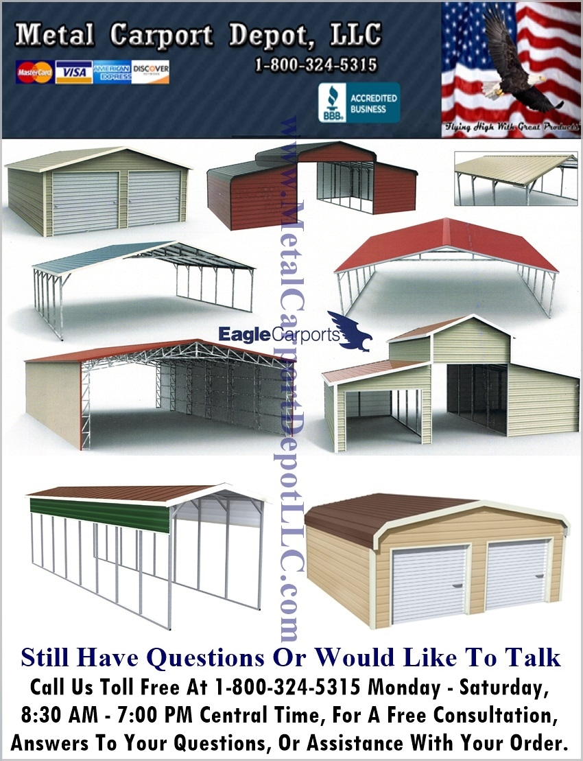 Answers To Faq About Metal Carports Amp Metal Buildings