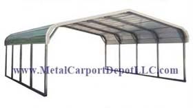 Certification Available 140 Mph 35 Psf Up To 170 65 If Needed Regular Style Metal Carports