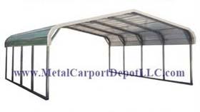 Metal Carport & Metal Garage Sales | Metal Carport Depot