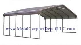 Regular Style T.W. Metal Carports