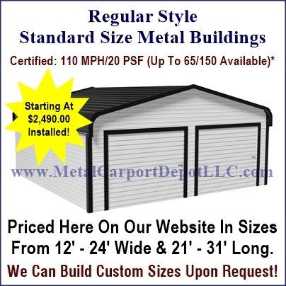 Metal Buildings & Garage Buildings