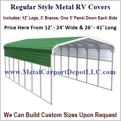click on a style above or an image below for pricing - Rv Cover