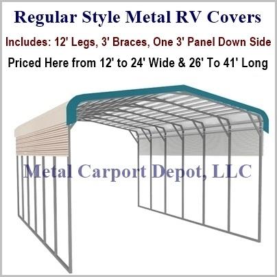 Metal Rv Covers Price Amp Order Online Metal Carport Depot
