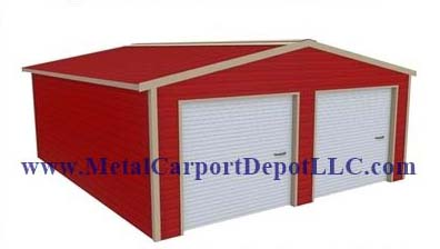 Vertical Roof Style TW Metal Buildings