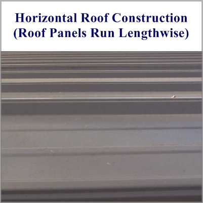 Boxed Eave Style Horizontal Roof Pic