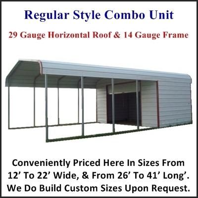 Carport With Storage Pricing For Al Ar Ga In Ky La