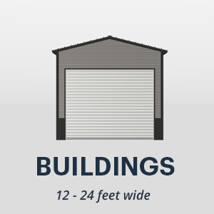 26' x 24' Wide Metal Buildings
