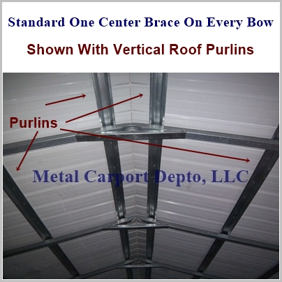 Vertical Roof Combo Unit Center Braces Pic