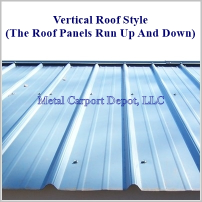 Vertical Roof Combo Roof Panel Pic